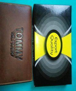 Brown Color Long Shaped Wallet for Men