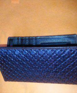 Blue Long Shaped Wallet for Men