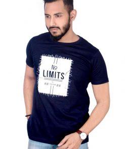 No Limits হাফ হাতা গোল গলা কটন টি শার্ট