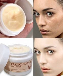 Moisturizer Brighten Snail Hyaluronic Acid Pores Collagen Essence Facial Cream