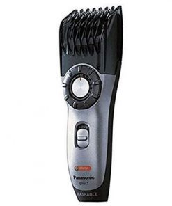 Black Color Easy to Use Panasonic ER217 Original Japanese Beard Trimmer with Hair Clipper