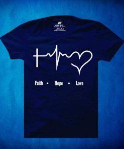Boys Half Sleeve Navy Blue Color Cotton T-Shirt
