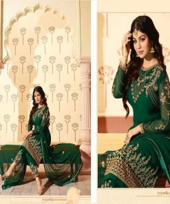 Original Soft Weightless Georgette Unstitched Embroidered Three Piece Salwar Kameez