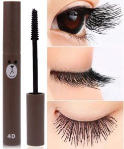 4D Fiber Long Black Eyelash Extension Waterproof Eye Mascara