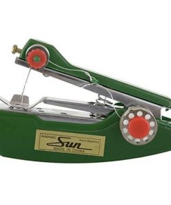 Mini stapler style hand sewing machine