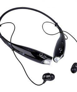 LG Tone কালো কালার ওয়ারলেস ব্লটুথ হেডফোন