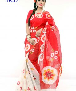 Cotton Kota Printed Multi Color Gorgeous Looking Saree DS12