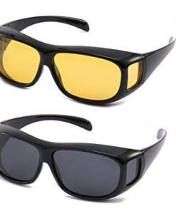 Brand New 2 in 1 Night Vision HD UV Protective Sun Glass