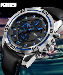 Boys Blue Color SKMEI Wrist Watch