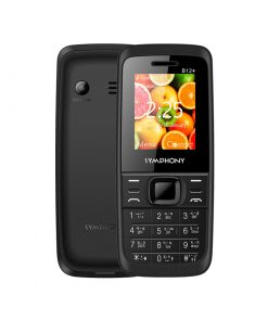 Symphony B12+ Dual SIM Feature Phone with Wireless FM, Torch and Sound Recorder