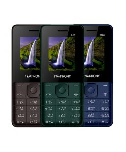 Symphony B26 Dual SIM Feature Phone with Battery Saver and Standby Time: 200 Hours
