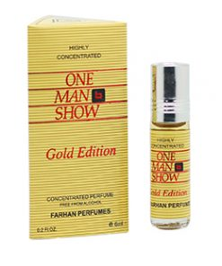 One Man Show Gold Edition Highly Concentrated Perfume -6ml (Unisex)