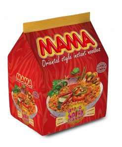 Mama Instant Noodles Hot & Spicy Flavour (496 gm)