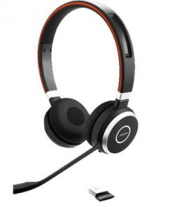 হাই কোয়ালিটি Jabra Evolve 65 Duo ওয়্যারলেস হেডসেট