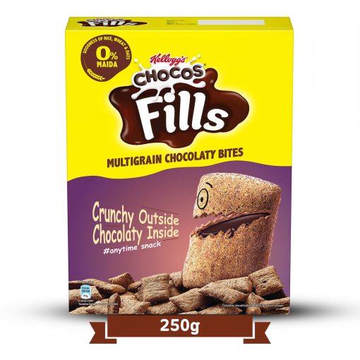 Kellogg's Chocos Fills Chocolate Breakfast Cereal (250 gm)