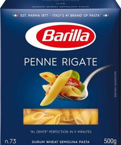 Barilla Durum Wheat Pasta - Penne (500 gm)