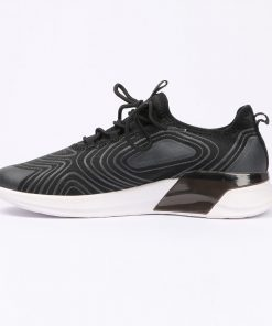 High Quality Fabric Sport Shoe with Elastic Fiber Lace