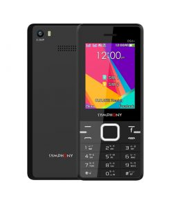 Symphony D54+ Dual SIM Feature Phone with magic voice, One press Facebook button and Opera mini