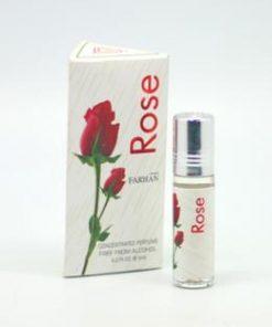 Farhan Rose Concentrated Perfume -6ml (Men)