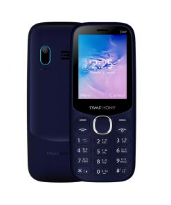 Symphony D47 Dual SIM Feature Phone with Standby Time 400H, Wireless FM Radio and Sound Recorder