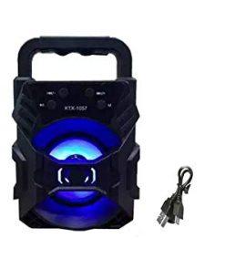 এক্সক্লুসিভ KTX-1057 ওয়্যারলেস HD অডিও USB ৩ ইঞ্চি ব্লুটুথ স্পিকার