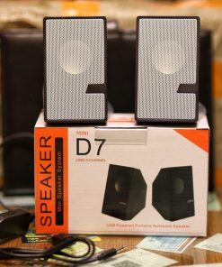 Brand New Design D7 Multimedia Speaker Mini USB