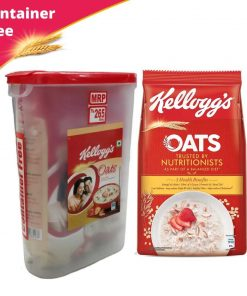 Kellogg's Oats Breakfast Cereal, Container Free (450gm)