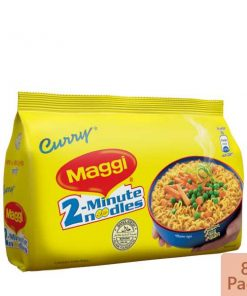 Nestlé MAGGI 2-Minute Noodles Curry 8 Pack (496 gm)
