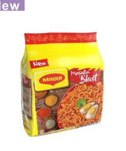 Nestlé MAGGI Masala Blast Noodles 4 Packs (252 gm)