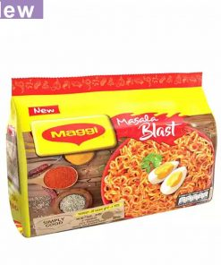 Nestlé MAGGI Masala Blast Noodles 8 Packs (504 gm)
