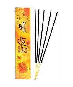 Shalimar Honey Incense Sticks (Agarbatti) (1 Packet 5 Pcs)