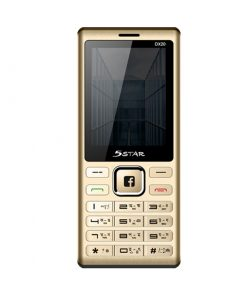 5 Star DX20 Four SIM Feature Phone with Magic Voice, Blacklist and 2000mAh Li-ion Battery