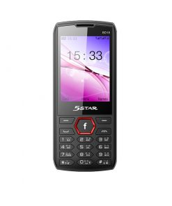 5 Star BD18 Triple SIM Feature Phone with Auto Call Record, Big Loud Speaker and 2500mAh Li-ion Battery