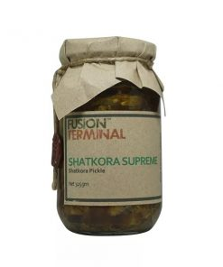 Fusion Terminal Shatkora Supreme Pickle (325gm)
