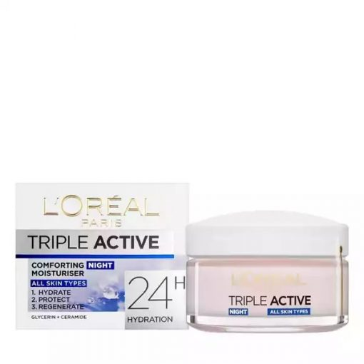 Loreal Paris Triple Active Night Cream(50ml)