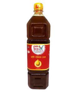 Shera Bangla Pure Mustard Oil (1ltr)