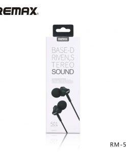 REMAX RM-501 ইন-ইয়ার স্টেরিও ইয়ারফোনে