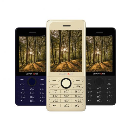 Symphony T140 Dual SIM Feature Phone with MP3 Player, Wireless FM Radio and Standby 160 Hours