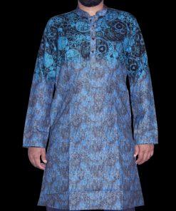 এক্সক্লুসিভ মাল্টি কালার প্রিন্টেড সফট ইন্ডিয়ান কটন পাঞ্জাবি ফর ম্যান 1408