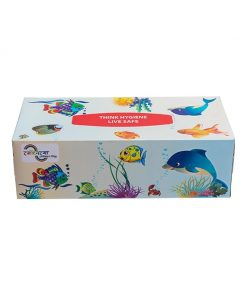 Get 25 pcs free Rainbow Facial Tissue 240 Sheets (120 Pcs X 2 Ply) 50pcs