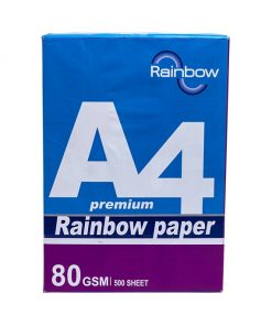 Buy 4 get 1 Rainbow A4 Paper (80 GSM)
