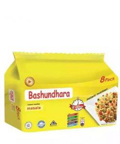 Bashundhara Instant Noodles Masala (8 Pack)