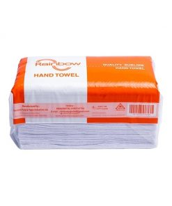 Buy 3 get 1 Rainbow Hand Towel 250 Sheets