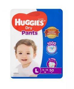 Huggies Dry Pants Baby Diaper Pant (50pcs)