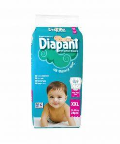 Bashundhara Diapant Baby Diaper (24pcs)
