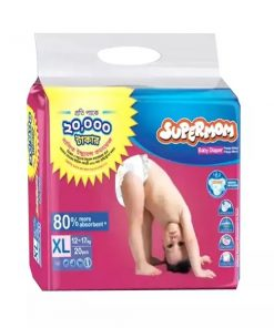 SUPERMOM Baby Diaper Belt XL (20pcs)