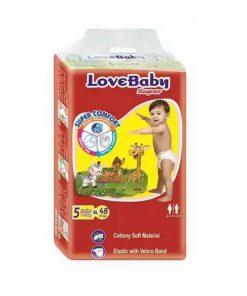 Love Baby Super Diaper 5 Junior Belt (48pcs)