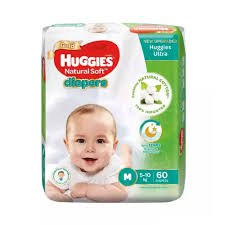 Huggies Baby Diaper Ultra Belt (60pcs)