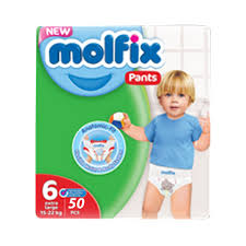 Molfix Baby Diaper Pants Super Pack Large (50pcs)