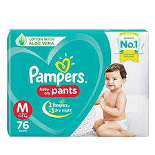 Pampers Baby Dry Pants Diaper Pant (76pcs)
